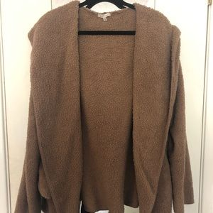 Cozy Casual Brown Cardigan Sweater XL/2XL